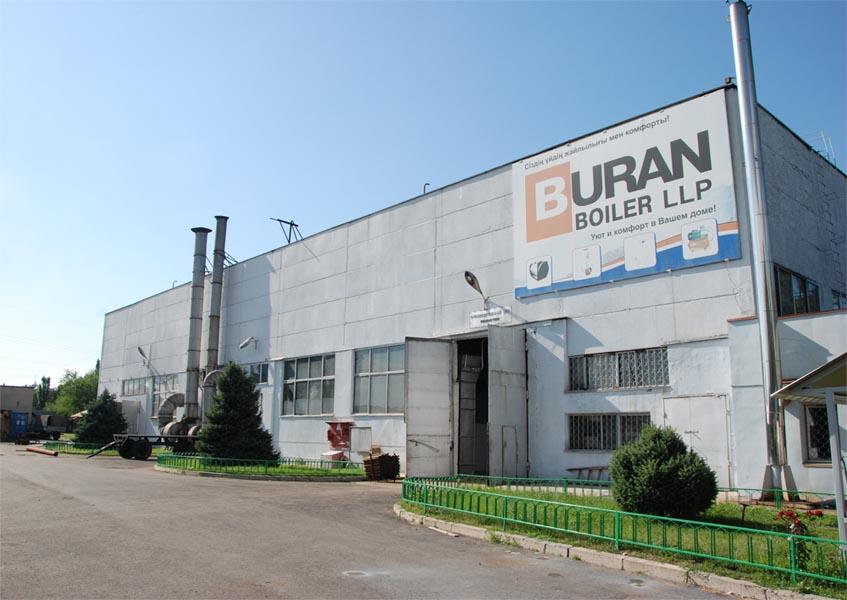 Завод компании Буран Бойлер